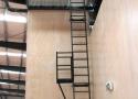 powder-coated-katt-ladder-with-rest-platform-and-upper-hatch-platform